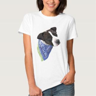 American Staffordshire Terrier-Aggie T Shirt
