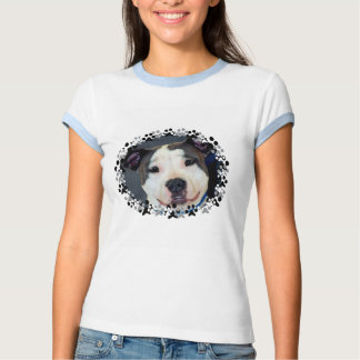 American Staffordshire Terrier-Am Staff Photo Tee Shirt