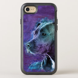 OtterBox Apple iPhone 7 Symmetry Case with Bull Terrier Phone Cases design