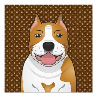 American Staffordshire Terrier (Amstaff) Photo Art