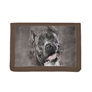 American Staffordshire Terrier - Amstaff Trifold Wallet