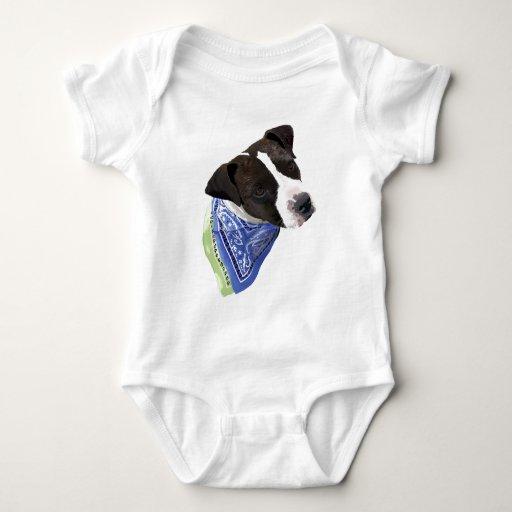 American Staffordshire Terrier Baby Bodysuit