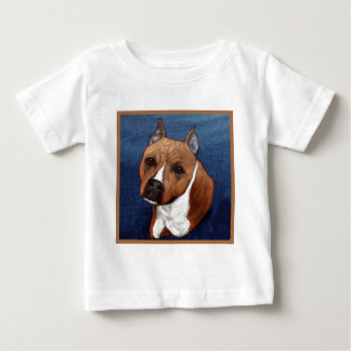 American Staffordshire Terrier Baby T-Shirt