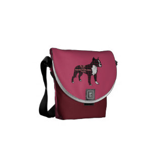 American Staffordshire Terrier BFF Courier Bag
