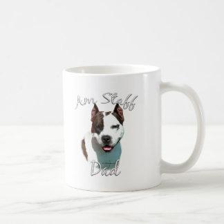 American Staffordshire Terrier Dad 2 Coffee Mug