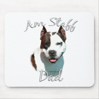 American Staffordshire Terrier Dad 2 Mouse Pad