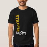 American Staffordshire Terrier Dad T-Shirt