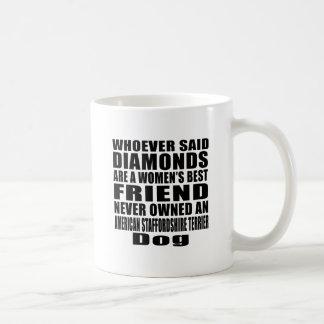 AMERICAN STAFFORDSHIRE TERRIER DOG BEST FRIEND DES COFFEE MUG