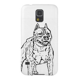 American Staffordshire Terrier Dog Case For Galaxy S5