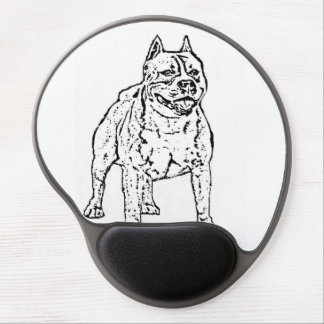 American Staffordshire Terrier Dog Gel Mouse Pad