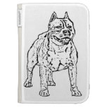 American Staffordshire Terrier Dog Kindle 3G Cases