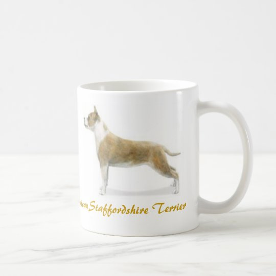 American Staffordshire Terrier, Dog Lover Galore! Coffee Mug