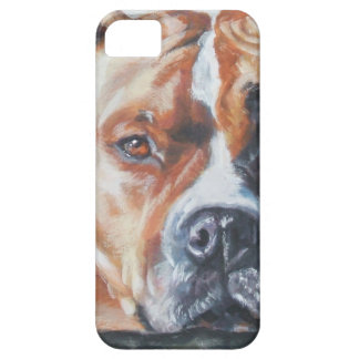 American Staffordshire Terrier dog portrait iphone iPhone SE/5/5s Case