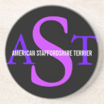 American Staffordshire Terrier Drink Coaster