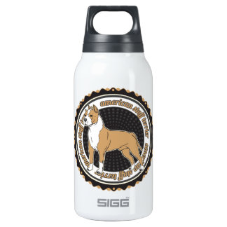 American Staffordshire Terrier Insulated Water Bottle