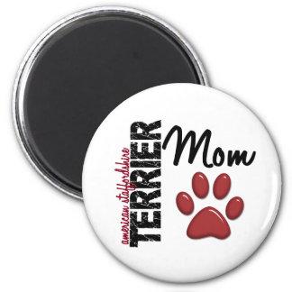 American Staffordshire Terrier Mom 2 Fridge Magnets