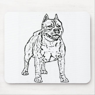 American Staffordshire Terrier mousepad
