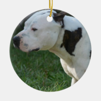 American Staffordshire Terrier Christmas Tree Ornament