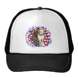 American Staffordshire Terrier Patriot Hats