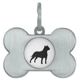 american staffordshire terrier pet ID tag