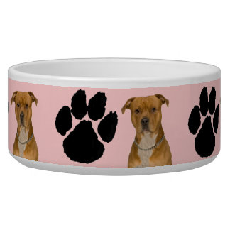 American Staffordshire Terrier Pet Water Bowls