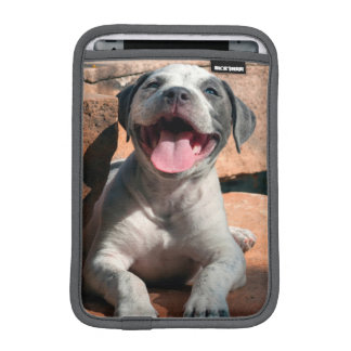 American Staffordshire Terrier puppy Portrait 4 iPad Mini Sleeve