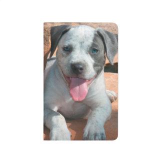 American Staffordshire Terrier puppy Portrait Journal