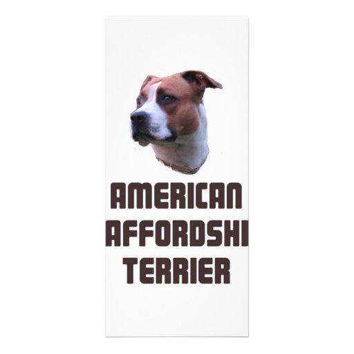American Staffordshire Terrier Custom Rack Cards