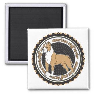 American Staffordshire Terrier Refrigerator Magnet