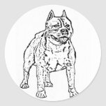 American Staffordshire Terrier stickers