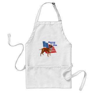 American Staffordshire Terrier USA Apron