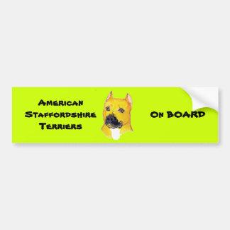 American Staffordshire Terriers Bumper Sticker