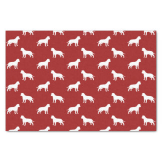 """American Staffordshire Terriers (Floppy Ears) 10"""" X 15"""" Tissue Paper"""