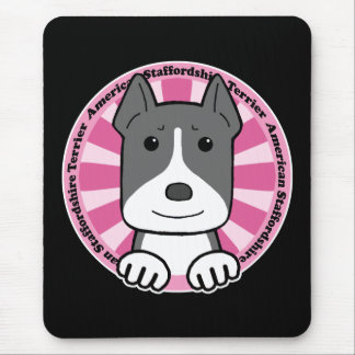 American Stafforshire Terrier Mouse Pad