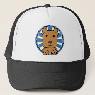American Stafforshire Terrier Trucker Hat
