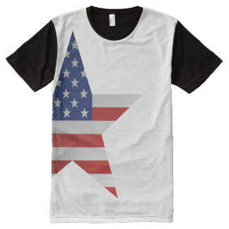 American Star All-Over-Print T-Shirt
