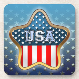 American Star Drink Coaster