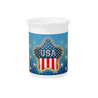 American Star Drink Pitcher