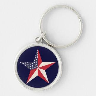 American Star Keychain