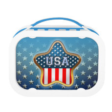 American Star Lunch Box