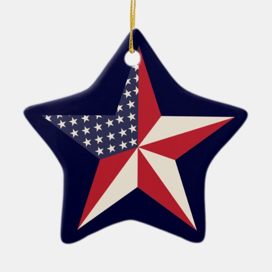 American Star Ornament