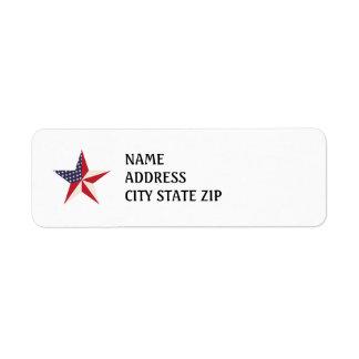 American Star Return Address Labels