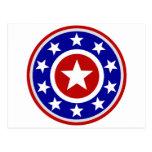 American Star Shield Post Card
