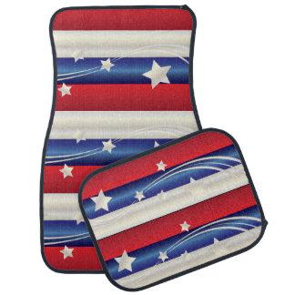 American Stars and Striped Car Mats Floor Mat