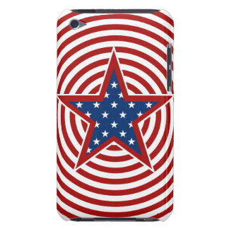 American Stars And Stripes Cicles Star iPod Touch iPod Touch Covers