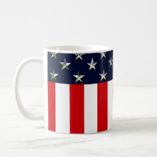 American Stars And Stripes Coffee Mug