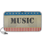 American Stars and Stripes Music Doodle Speaker