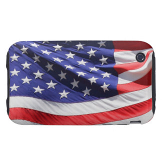 American stars and stripes US flag photo, gift iPhone 3 Tough Cover