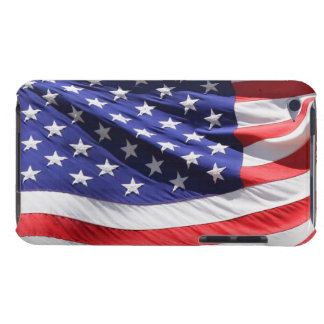 American stars and stripes US flag photo, gift Barely There iPod Cover