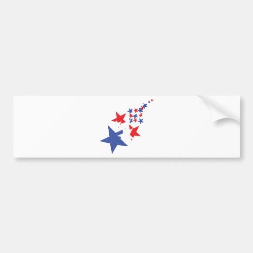 american stars bumper sticker